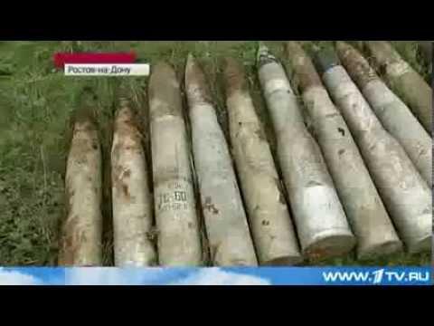Обнаружен Арсенал Оружия На Территории Бывшей Войсковой Части  2013