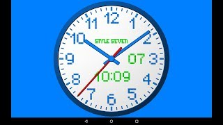 3D Analog Clock Live Wallpaper-7 screenshot 3