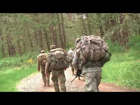 DFN:I Corps Best Warrior 2018 Road March, JOINT BASE LEWIS-MCCHORD, WA, UNITED STATES, 05.15.2018