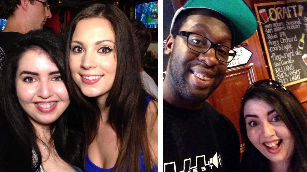 MEETING MELONIEMAC and BLAKINOLA | NA LCS finals viewing party with NYC LoL