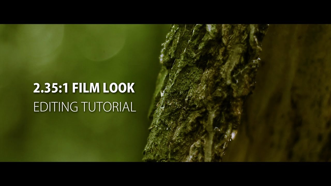 Hd Wallpaper Dimensions 2 35 1 Anamorphic Film Look After Effects Premiere