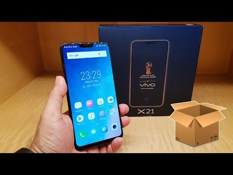 VIVO X21 Unboxing (in Hindi), In-display Finger Print, Specification, Dual VoLTE, Price Rs. 35,990