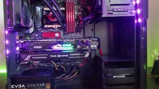 MSI Duke RTX 2080 | i7 8700k 5.0Ghz | 32GB ddr4 | Gaming PC