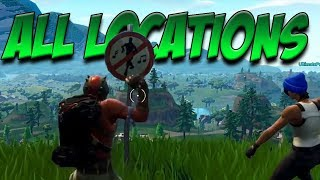 All Forbidden Dance Locations (Fortnite Battle Pass Challenges)