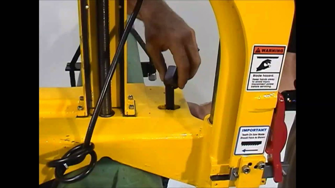 Guillotine Industrial Pipe Saw Set Up by EH Wachs - YouTube