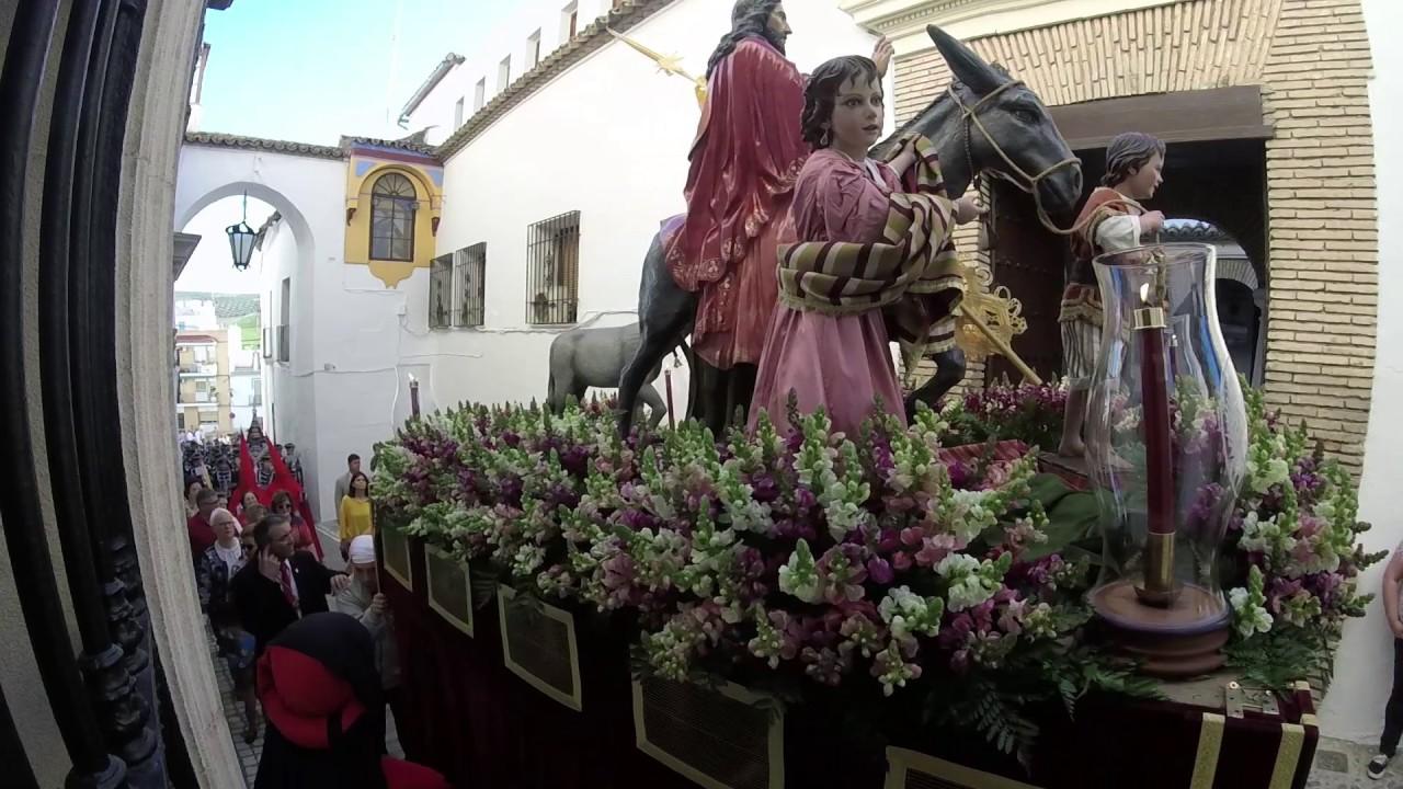 Semana Santa De Castro Del Río Domingo De Ramos 2017 Youtube