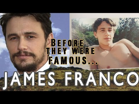 James Franco - Before They Were Famous