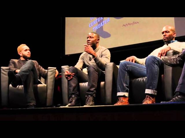 THE ROYALE Cast Members at the Schomburg Center