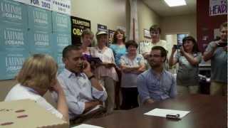 President Obama Visits the OFA Henderson, Nevada Office