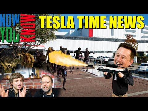 Tesla Time News - Elon's Plan for The Zombie Apocolypse
