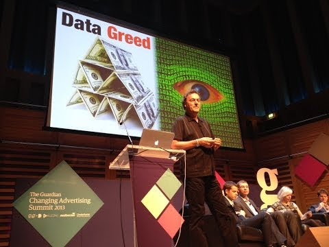 Datawars and the future of Advertising: Futurist Speaker Gerd Leonhard at Guardian Ad Summit (2)