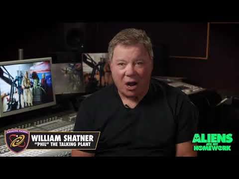 "William Shatner announces role in ""Aliens Ate My Homework"" movie"