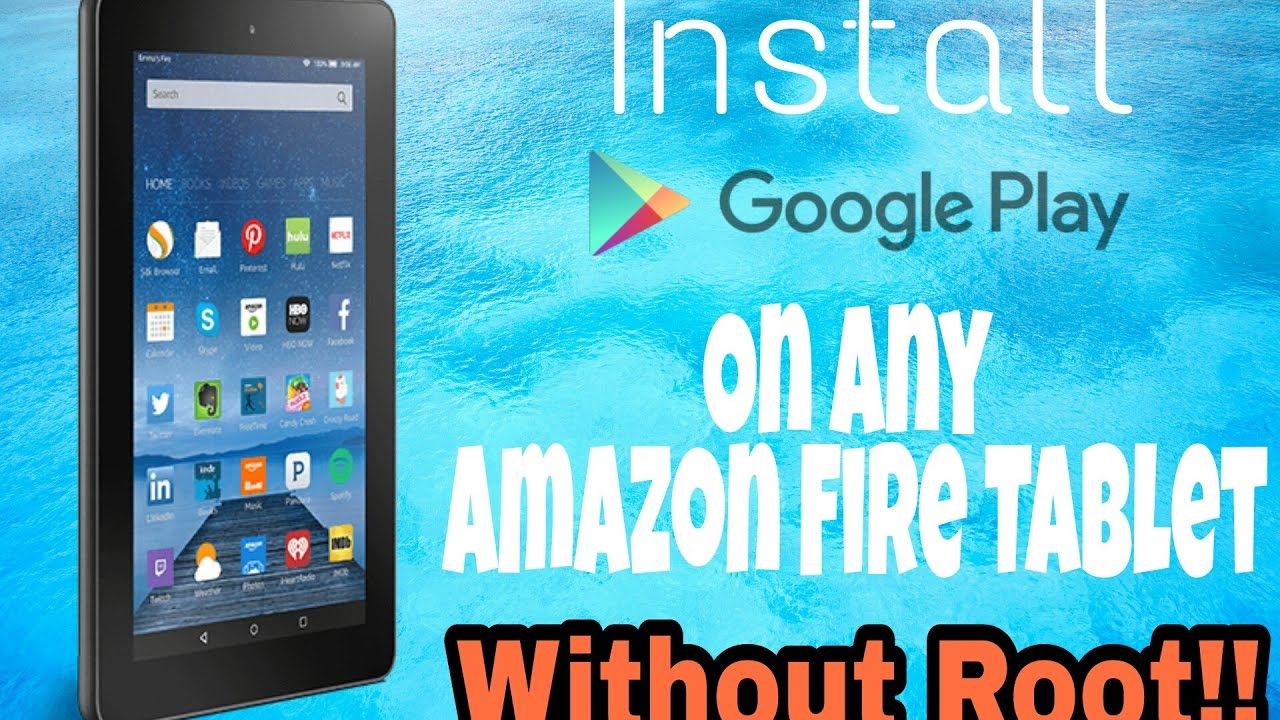 how to install google play on tablet
