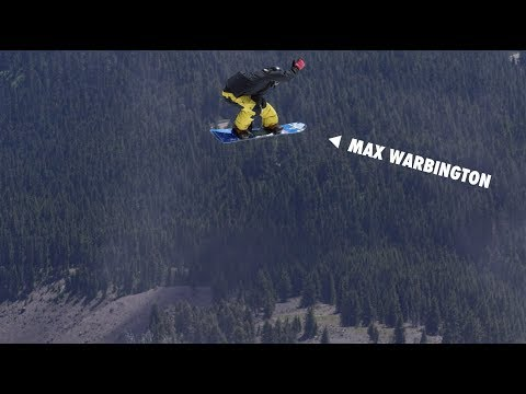 How to do a Stelmasky Grab with Max Warbington | TransWorld SNOWboarding Grab Directory