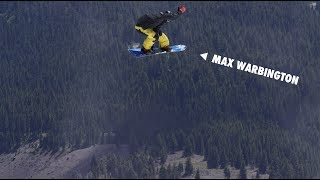 How to do a Stelmasky Grab with Max Warbington   TransWorld SNOWboarding Grab Directory