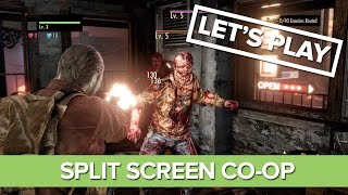 Resident Evil Revelations 2: Split Screen Co-op Raid Mode Gameplay