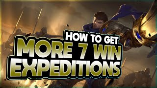 How to Get MORE WINS In EXPEDITIONS - Legends of Runeterra Expeditions Guide