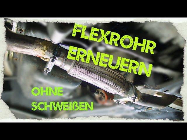 DICHTUNGEN OPEL SIGNUM VECTRA C 1.9 CDTI HOSENROHR FLEXROHR AUSPUFFROHR