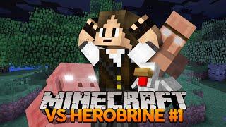 Minecraft VS Herobrine #1: Começando a Série! (MOD do Herobrine)