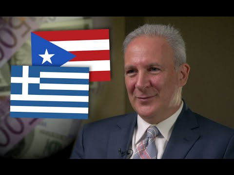 Peter Schiff on Greece, Puerto Rico, and America's Looming Economic Crisis
