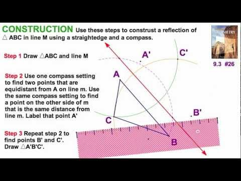 how to make a right triangle with a compass