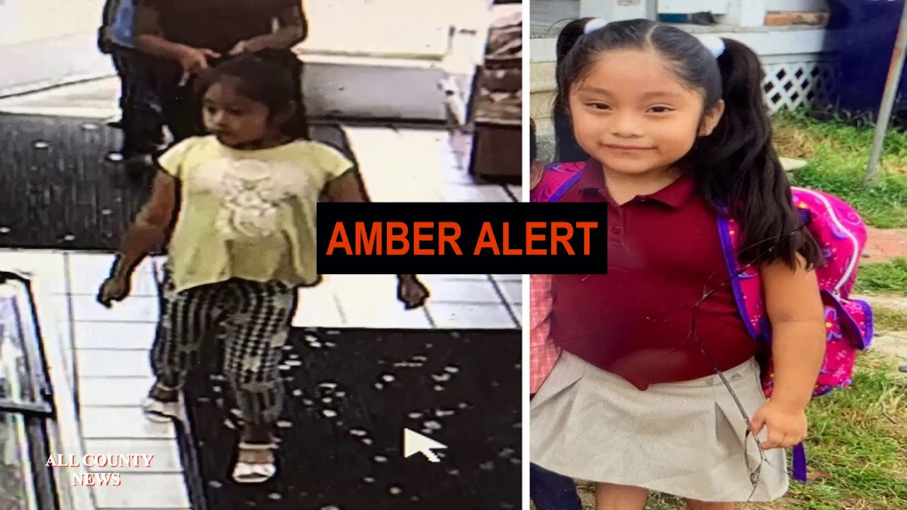 Amber Alert issued for 5-year-old New Jersey girl who police say was lured into a van