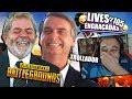 BOLSONARO E LULA SE ENCONTRANDO NO PUB & SKIPNHO TROLLANDO TECNOSH | 😆 LIVES ENGRAÇADAS #105 😆