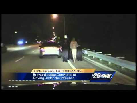 Jury convicts judge of drunken driving