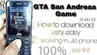 how to dawnlod GTA san Andreas in Jio phone/जियो फोन में GTA सैन एंड्रियास kese kele in hindi