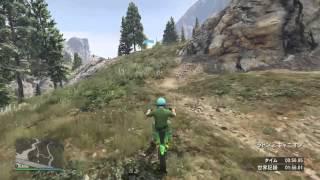 PS4 GTA5 タイムアタック アップ・ザ・クリーク[Up the Creek] 1:53.545