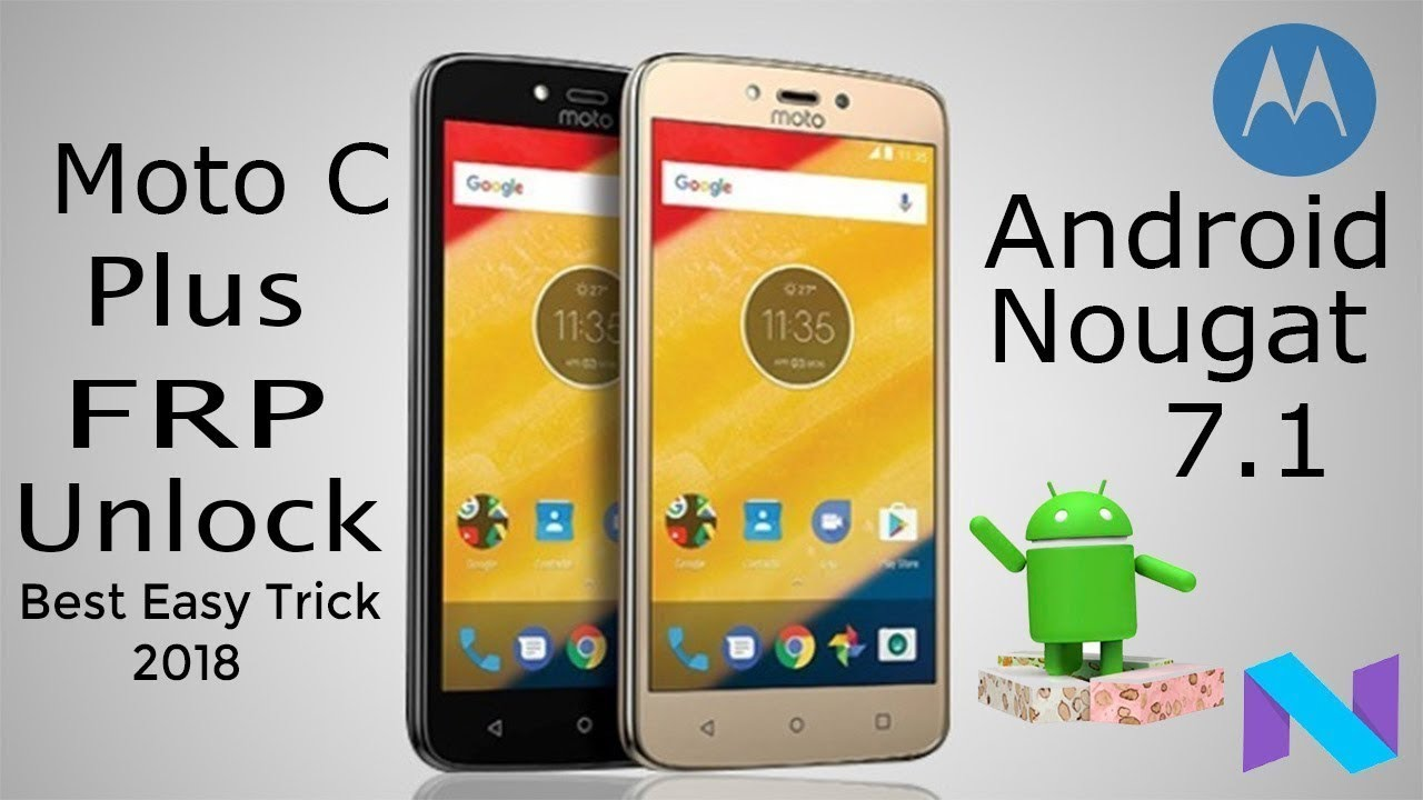 moto c plus Frp Unlock without PC & OTG by SKY TECH FRP