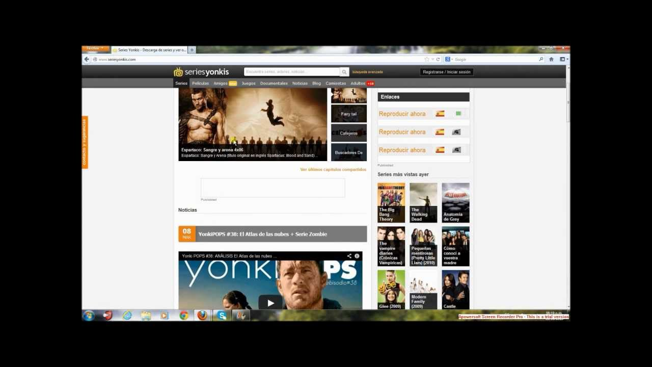 3 mejores sitios para ver peliculas online - YouTube
