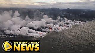 Hawaii Volcano Eruption Update - Saturday Evening (July 21, 2018)