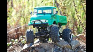 Unimog Cr-01 - Off Road And Rock Crawling