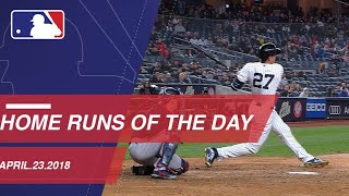 Home Runs of the Day: 4/23/18