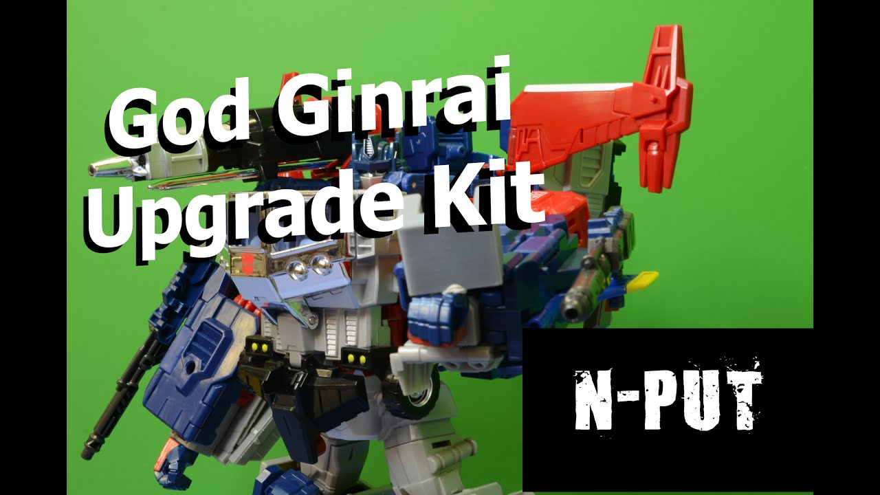 Takara Legends God Ginrai upgrade kit!!!! (Leg Supports)