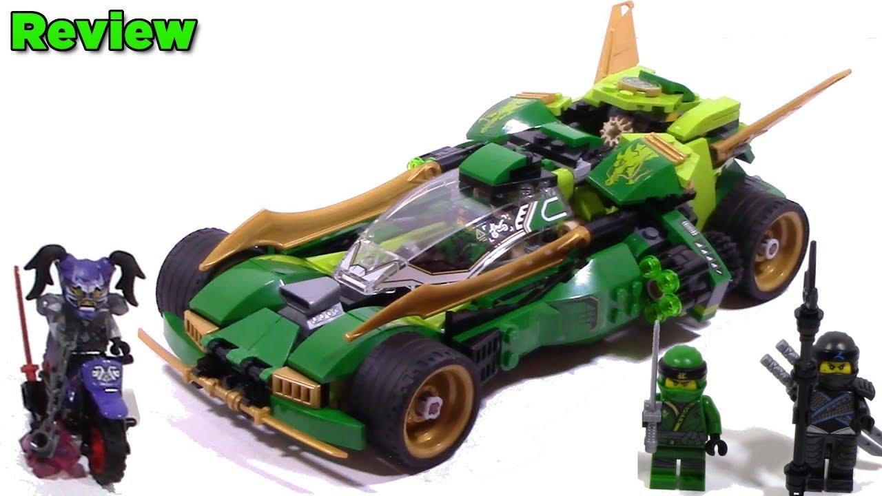 Lego Ninjago 70641 Ninja Nightcrawler Review Youtube