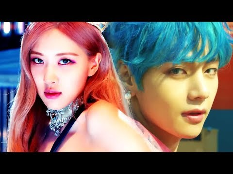 BTS & BLACKPINK - KILL THIS BOY WITH LUV (MASHUP)