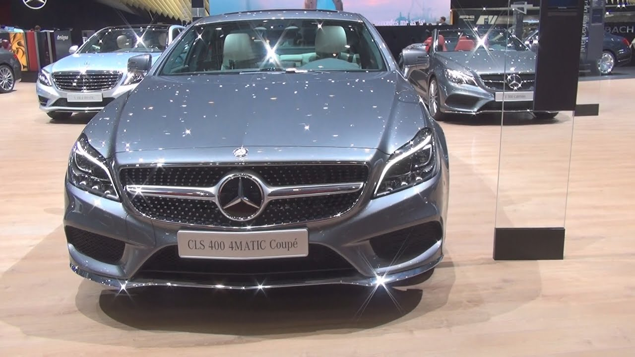 mercedes benz cls 400 4matic coup 2016 exterior and interior in 3d youtube. Black Bedroom Furniture Sets. Home Design Ideas