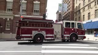 San Francisco Fire Department @ Sutter St & Mason St San Francisco California
