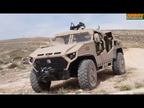 Ajban SOV 4x4 Special Operations Vehicle NIMR Automotive Warrior Competition 2016 KASOTC