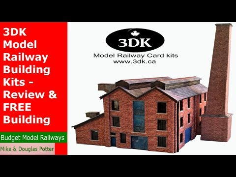3DK Model Railway Building Kits – Review & FREE Building Kit