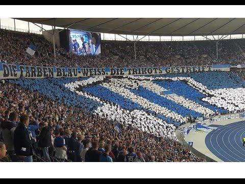 RONNY-Abschied, CHOREO & grandiose Stimmung bei Hertha gegen S04!!