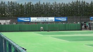 【ソフトテニス】7/28 会津総合運動公園テニスコート 13コート thumbnail