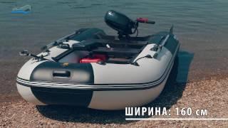 рИВЬЕРА 3400 СК Компакт - Обзор надувной моторной лодки ПВХ