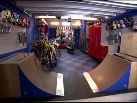 Motocross Garage  YouTube