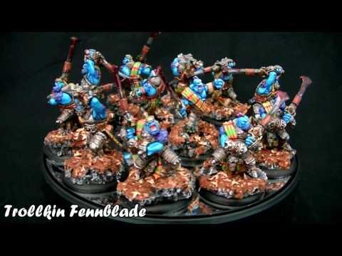 Vitrine de la Forge : Trollkin Fennblade