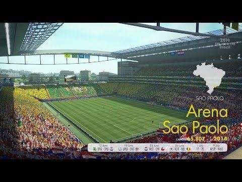 EA 2014 FIFA World Cup Arena Sao Paolo - FIFAALLSTARS