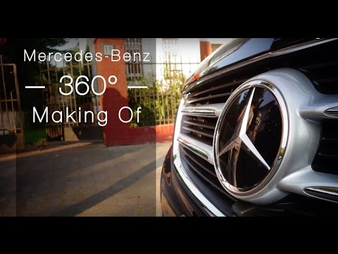 Mercedes-Benz Making Of 360° Video: V-Class Exclusive Line