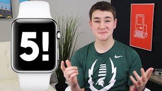 Top 5 Reasons to Buy The Apple Watch!(Top 5 Reasons to Buy The Apple Watch! With the Apple Watch Sport, Watch and Edition (gold Apple Watch) being unveiled today, there's a lot to like! The Apple ..., 2015-03-09T23:39:53.000Z)